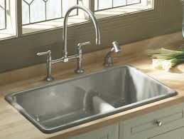 ideas bathroom sinks designer kohler:  modern kitchen kohler irontones k  kitchen lg best kitchen sink and kitchen window treatments