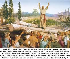 LDS Memes - Scriptures - Genesis 6:5-6, 8 via Relatably.com