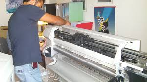 cambio cinghia belt plotter hp Latina
