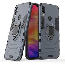 Redmi Note 7 Case DWaybox Ring Holder Iron Man ... - Amazon.com