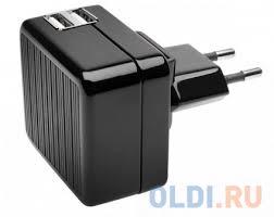 Сетевое <b>зарядное устройство Kensington</b> K39690EU 2.1A 2х ...