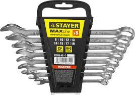 <b>Набор</b> комбинированных гаечных ключей 8-19мм, <b>8шт STAYER</b> ...