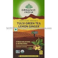 Органический Индийский Тулси Зеленый <b>Чай</b>,<b>Лимонный</b> Имбирь ...