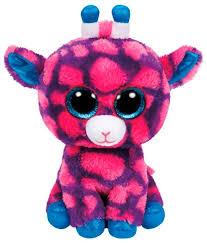 <b>Мягкая игрушка TY</b> Beanie boos <b>Жираф</b> Sky high 15 см — купить ...