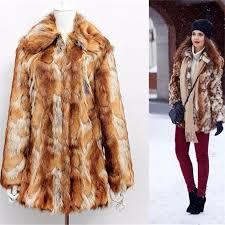 <b>Hot</b> Sell <b>2016</b> New Winter Warm <b>Fashion</b> Faux Fur Coats Tiger ...