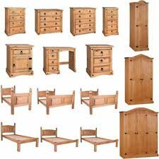 corona <b>mexican pine</b> bedroom furniture products for sale | eBay