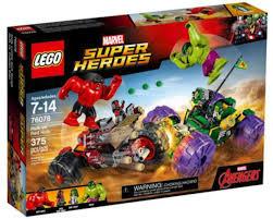 <b>LEGO Super Heroes</b> Hulk vs. Red Hulk <b>76078</b> Building Kit ...