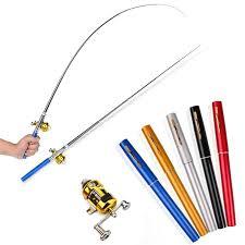 Sport en vakantie Mini <b>Portable</b> Pocket <b>Fish</b> Pen Shape <b>Aluminum</b> ...