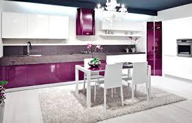 small square kitchen table: fabulous white purple kitchen design small square kitchen table