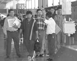 immigration reform and immigrant responsibility act of  six of forty nine salvadorans whose attempt to enter the united states illegally in