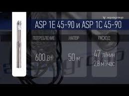 Скважинный <b>насос Aquario ASP1E</b>-45-<b>90</b> NEW – купить в ...