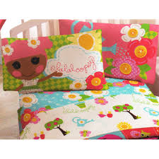 Lalaloopsy Bedroom Decor Amazoncom Lalaloopsy Sew Magical Twin Bedding Set 4pc Blossom