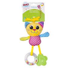 <b>Fancy</b> Baby <b>Развивающая игрушка</b> Подвеска Котёнок — купить в ...