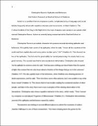 christopher boone s aptitudes and behaviors essay christopher this preview has intentionally blurred sections sign up to view the full version
