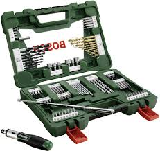 <b>Bosch</b> Accessories <b>2607017195 V</b>-<b>Line</b> TiN <b>91</b>-piece Universal drill ...
