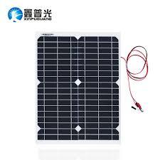 <b>Xinpuguang 20W</b> 18V <b>Flexible Solar</b> Panel Transparent led Light ...