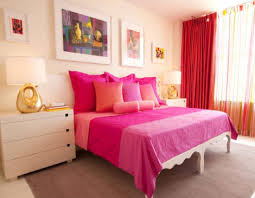 bedroom theme bedroom theme ideas for women with pink bedding and red curtain and wa