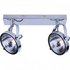 <b>Спот Arte Lamp A4506PL-2CC</b> ALIENO Хром (пр-во Италия)
