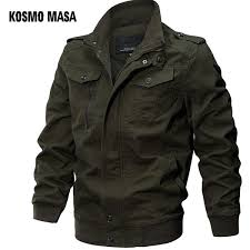 <b>KOSMO MASA Bomber Jacket</b> Men Autumn Winter 2018 Military ...