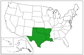 West South Central states