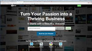 how to create a website online successful business online