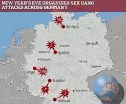 「New Year's Eve sexual assaults in Germany」の画像検索結果