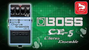 <b>BOSS CE</b>-5 - гитарный хорус (Stereo <b>Chorus</b> Ensemble Pedal ...