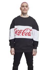 Мужская <b>толстовка Urban Classics</b> MC166 Coca Cola <b>Stripe</b> ...