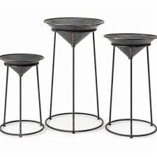 IMax 11379-3 Adette Plant Stands - Set of 3, 1 - Food 4 Less