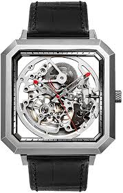 <b>CIGA Design</b> Stainless Steel Hollow Automatic Mechanical Watch ...