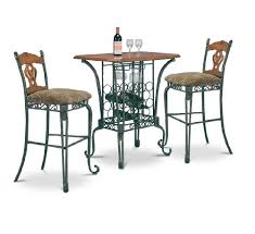 Affordable MAN CAVE <b>3 Piece Bar</b> Table Pub Set With 2 Stools ...