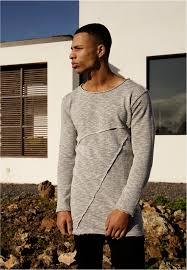 Толстовка <b>URBAN CLASSICS</b> Fashion Long Terry Crew (Grey ...