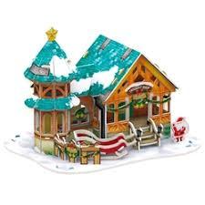 Пазл <b>CubicFun Рождественский домик</b> 3 (P649h) , элементов: 43 ...