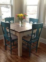 primitive dining table click images
