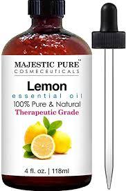 Majestic Pure Lemon Oil, Therapeutic Grade ... - Amazon.com