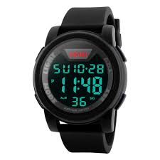 Men's <b>Digital</b> Sports Watch <b>LED Screen</b> Large Face Military Watches ...