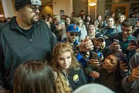 Kent State '<b>gun girl</b>' Kaitlin Bennett swarmed at Ohio University - The ...