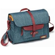 Small messenger bag (blue X burgundy) <b>NG AU</b> 2350 <b>NATIONAL</b> ...