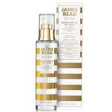 James Read <b>Coconut Dry Body</b> Tan <b>Oil</b> 100ml | Free Shipping ...