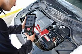 <b>Тестер АКБ цифровой</b> с нагрузочной вилкой <b>Ring</b> Automotive ...