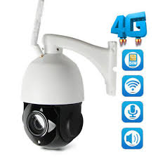 HD 1080P <b>3G 4G WIFI</b> CCTV Camera SIM Card Speed Dome ...