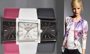 <b>Часы Hanowa</b> Mosaik. Очарование формы — блог AllTime.ru