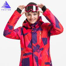 women windproof waterproof ski jackets winter warm outdoor sport snow skiing snowboarding female hiking coats
