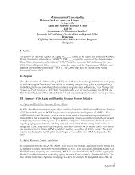 mou template info mou template sample memorandum of understanding and letter of