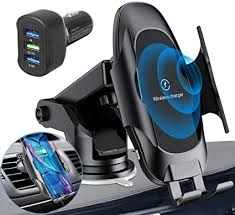 Homder Automatic Clamping Wireless Car Charger ... - Amazon.com