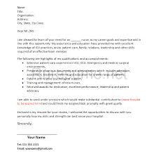 graduate nurse cover letter cover letter example nursing