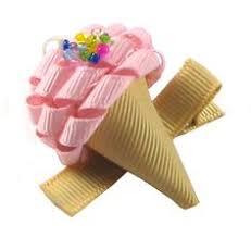 Tiny cupcake and <b>icecream</b> hair bows #hairclips | Канзаши | Hair ...
