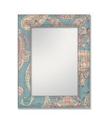 зеркало интерьерное дом корлеоне настенное бирюзовый калейдоскоп 65 х 80 см