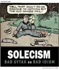 Images & Illustrations of solecism