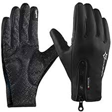 rockbros winter thermal warm cycling gloves touch screen mtb bike men women full finger keep bicycle